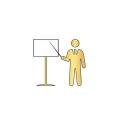 Training computer symbol vector