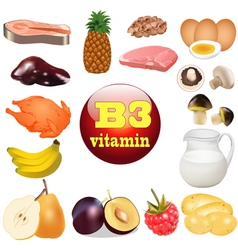 Three vitamin b the origin vector