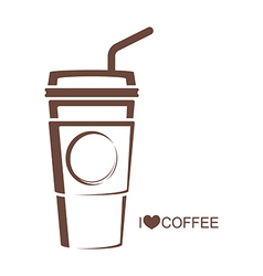 Coffee 5 Coffee cup vector image vector image