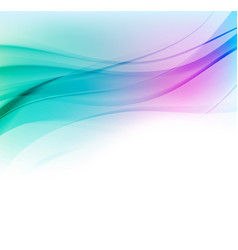 abstract background with blue and pink vector image