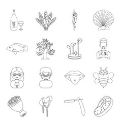 alcohol medicine justice and other web icon in vector image