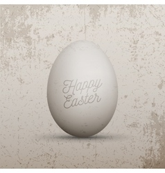 Easter design Element Realistic chicken Egg vector image
