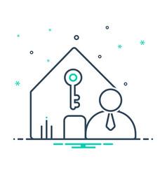 Landlord insurance vector