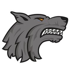 Logo wolf vector