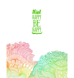 Rainbow colorful waves banner template vector