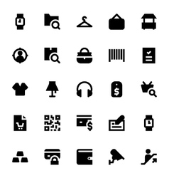 Shopping and Retail Icons 1 vector image