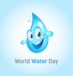 Square banner international holiday world water vector