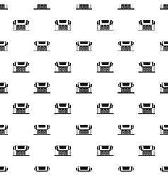 Temple pattern simple style vector