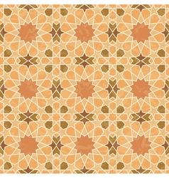 Arabic style vintage grunge pattern vector image vector image