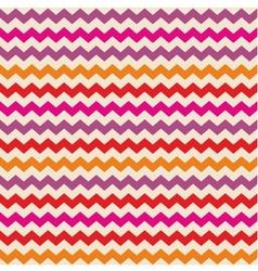 Zig zag tile wallpaper background vector image vector image
