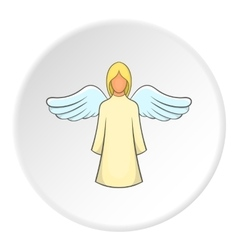 Angel icon flat style vector