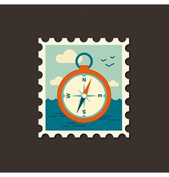 Compass icon Summer Marine vector image