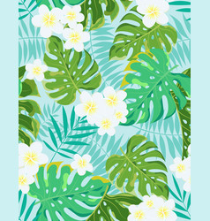 exotic jungle tropical pattern vector image