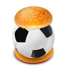 hamburger 07 vector image
