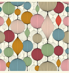 Seamless abstract wallpaper pattern colorful vector