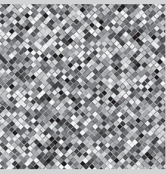 silver square halftone abstract background vector image