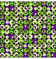 retro circle seamles pattern vector image