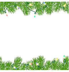 seamless horizontal borders vector image vector image