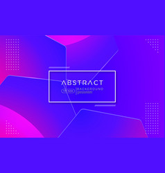 Abstract geometric purple colorful background vector