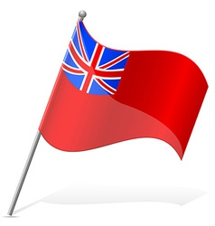 Flag bermuda island vector