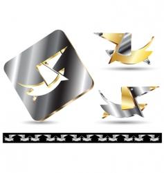 icon dog vector image