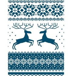 Scandinavian pattern vector