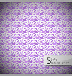 eyes purple vintage seamless pattern vector image