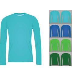 t shirt long vector image vector image