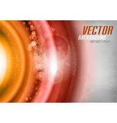 Orange Universe vector image