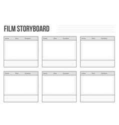 creative of professional film vector image