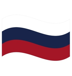 flag Russia vector image vector image