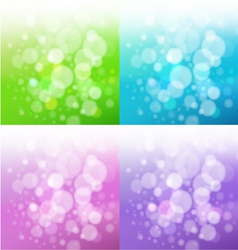 set of bath backgrounds vector image