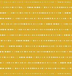 Horizontal lines seamless background yellow vector