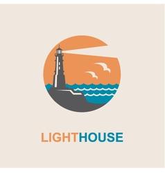 Lighthouse icon design vector