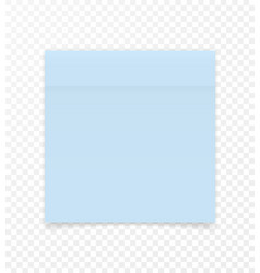 sticky paper note with shadow effect blank color vector image