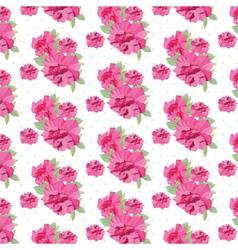 Vintage Spring Summer delicate peony Flowers vector image