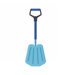 Emergency Snow Shovel vector image vector image