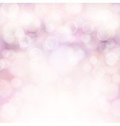soft pink bokeh background vector image