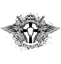 leon board corona swords vector image vector image