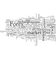 Awesome reasons to trade forex vector