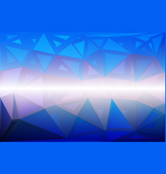 Blue shades pink random sizes low poly background vector
