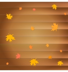 Happy thanksgiving day greeting card with falling vector