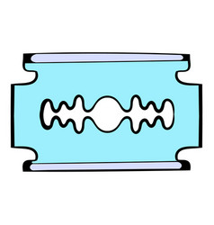 razor blade icon icon cartoon vector image
