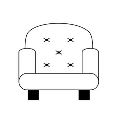 sofa chair icon image vector image vector image