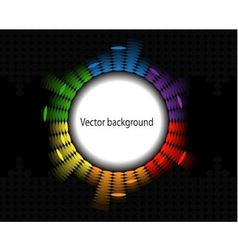 round equalizer vector image