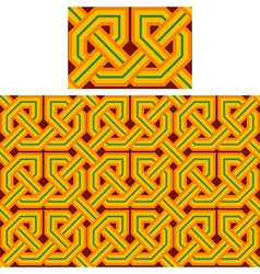 seamless Celtic vector image vector image