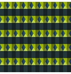 color rhombus seamless pattern vector image vector image