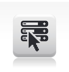 levels icon vector image vector image