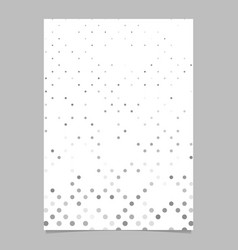 abstract geometric dot pattern background poster vector image