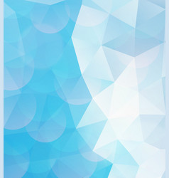 blue geometric pattern abstract background vector image